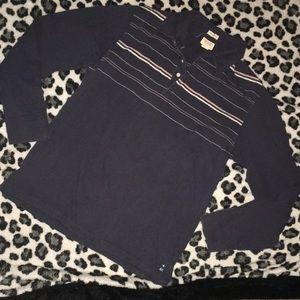 AE vintage slim fit shirt. Size small blue stripe